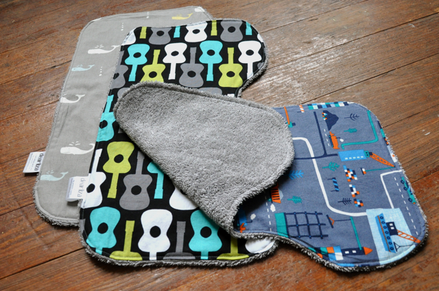 the cloud 9 tutorial recommends backing the burp cloths with flannel i didnu0027t have any flannel on hand so i upcycled a grey towel