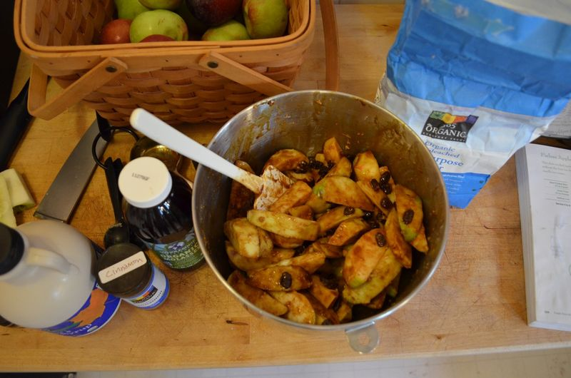 Apple-pie-a-la-mode-slow-cooker-molasses-maple-syrup