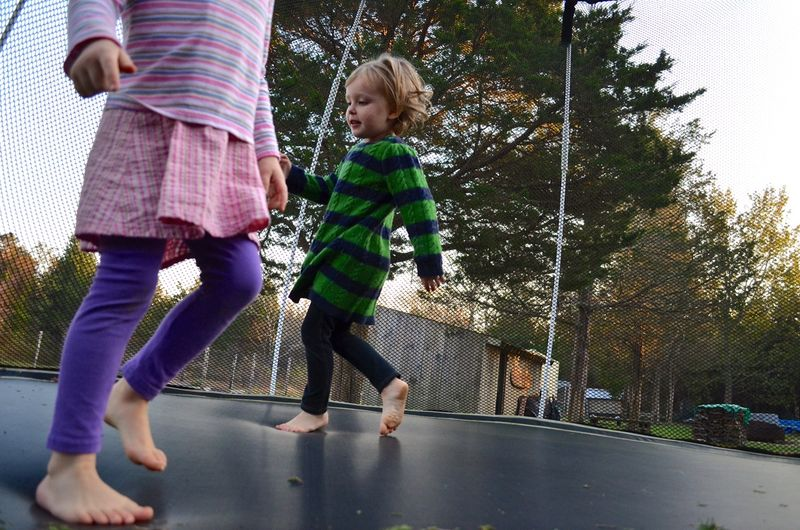 Trampoline-jumping-from-within-montessori-waldorf-education-girls