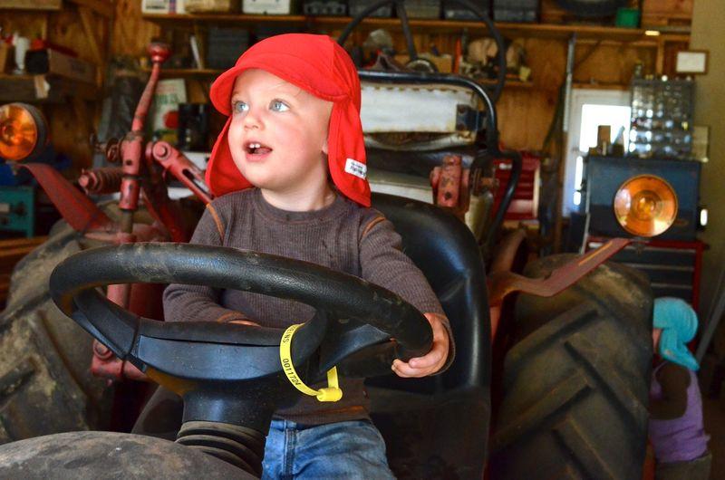 Buckle Farm Twins Visit21