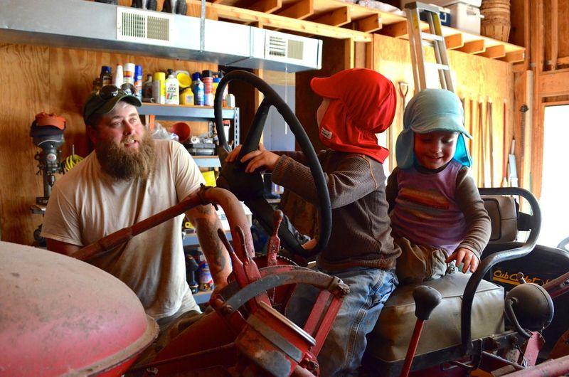 Buckle Farm Twins Visit24