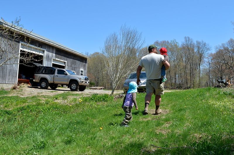 Buckle Farm Twins Visit16