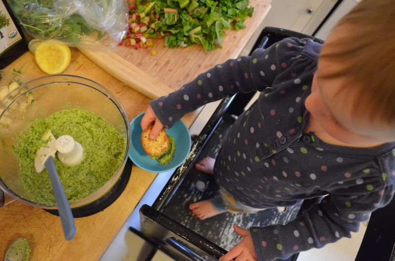 Arugula pesto kids eating healthy whole foods diet5