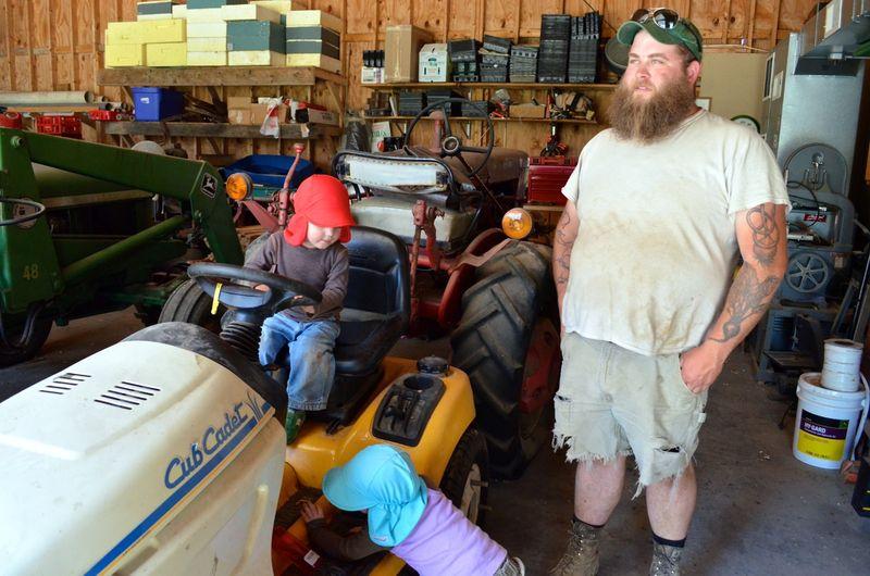 Buckle Farm Twins Visit22